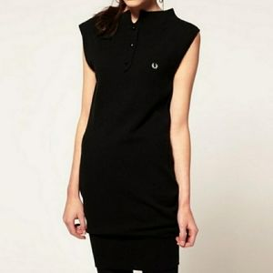 Fred Perry For Amy Winehouse Black Mini Dress M.